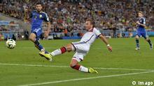 Fussball WM 2014 - Finale: Deutschland - Argentinien Götze Schuh Tor