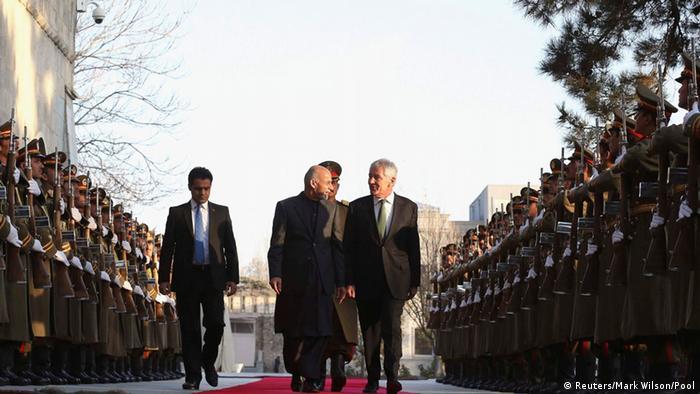 Kabul Chuck Hagel bei Aschraf Ghani 06.12.2014