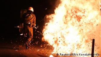 Zusammenstöße zwischen Polizei und Demonstranten in Athen bei Gedenken an Alexis Gigoropoulos, Foto: Reuters