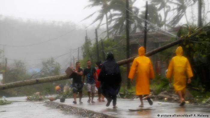 Philippinen Taifun Hagupit 07.12.2014 (Foto: picture-alliance/dpa)