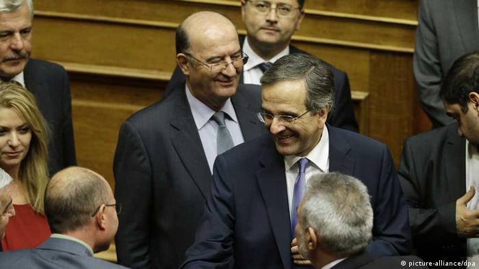 Parlament in Athen verabschiedet Haushalt