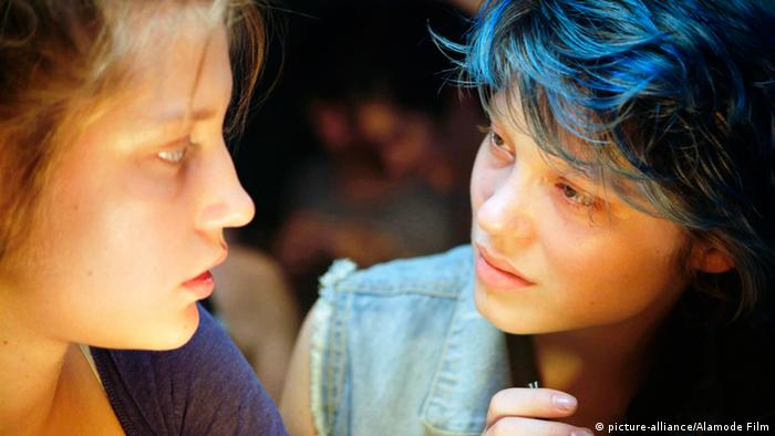 Filmszene Blau ist eine warme Farbe Lea Seydoux Adele Exarchopoulos