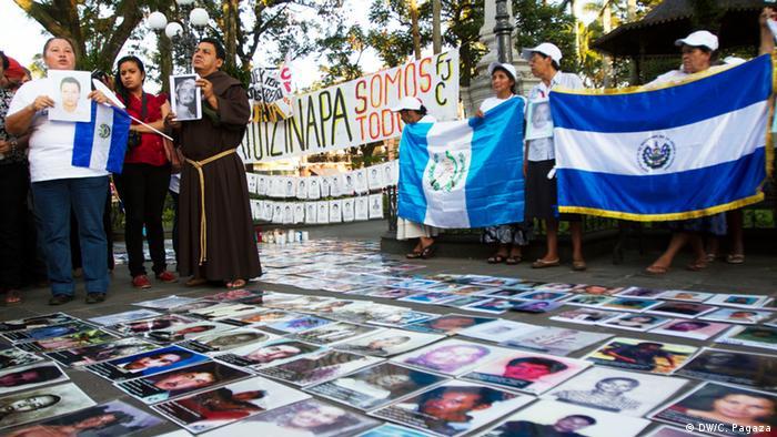 Marsch der Karawane zentralamerikanischer Mütter in Mexiko