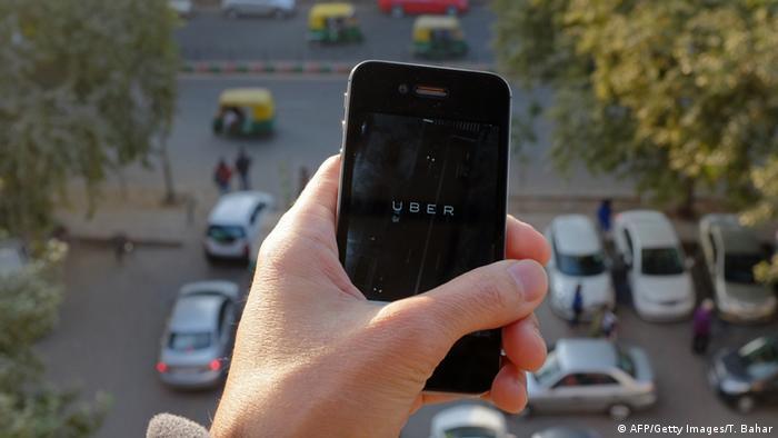 Symbolbild zu Uber Verbot in Indien 07.12.2014