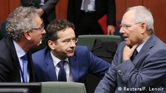 Euro Finanzminister Treffen in Brüssel 08.12.2014