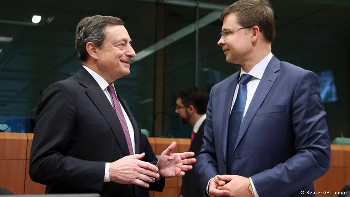 Euro Finanzminister Treffen in Brüssel 08.12.2014 (Reuters/F. Lenoir)