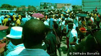 Luanda, Angola Movimento Revolucionario Demonstration