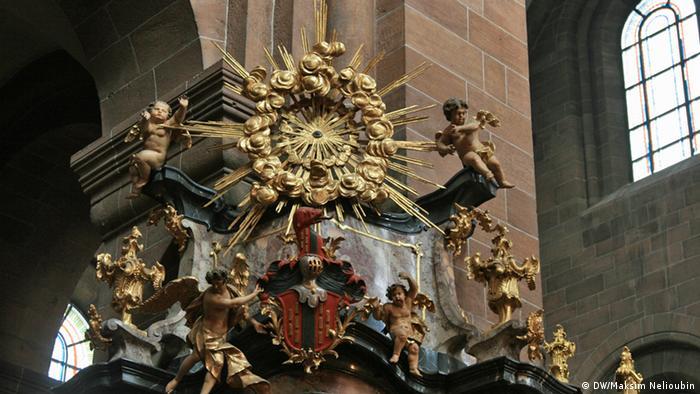 Фрагмент барочного алтаря