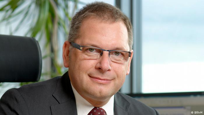 Карл Бройх, глава Федерального института медикаментов и медицинской продукции