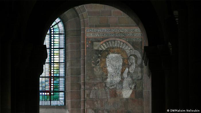 Изображение Святого Христофора в соборе