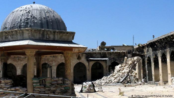 Мечеть Умаяд в Алеппо считалась одним из лучших образцов ранней исламмской архитектуры