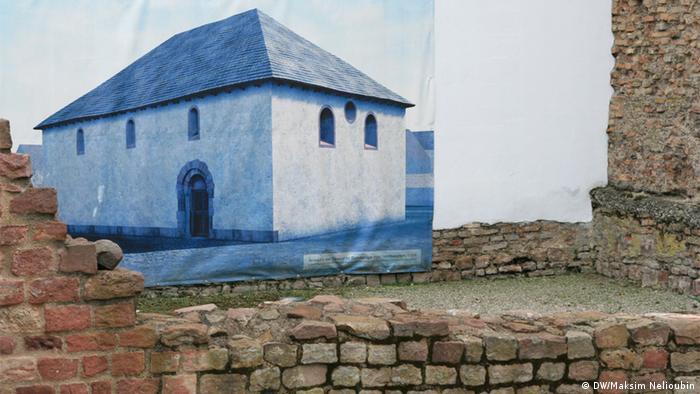 Стены женской молельни