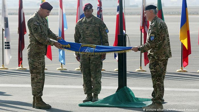 Afghanistan Kabul IJC Zeremonie Ende Kampfmission 08.12.2014