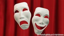 Symbolbild Drama und Masken