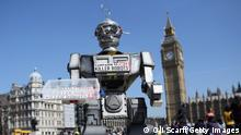 London Aktion Campaign to Stop Killer Robots 2013