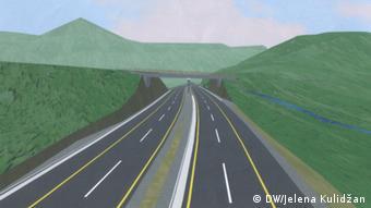 Kështu do të jetë autostrada e re në Mal të Zi e ndërtuar nga kinezët