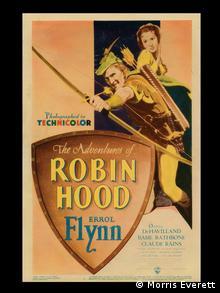 Robin Hood film poster from Morris Everett's collection, Copyright: Morris Everett