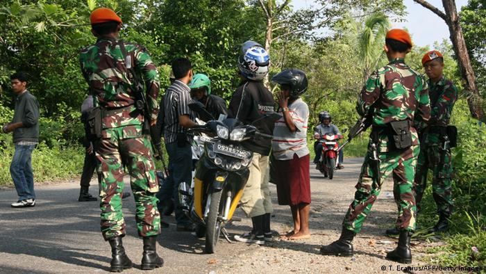 Indonesisches Militär in Papua