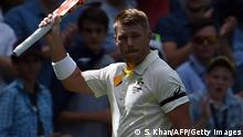 Austalischer Cricketspieler David Warner