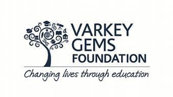 Logo der Varkey GEMS Stiftung mit einem Baum und dem Schriftzug
