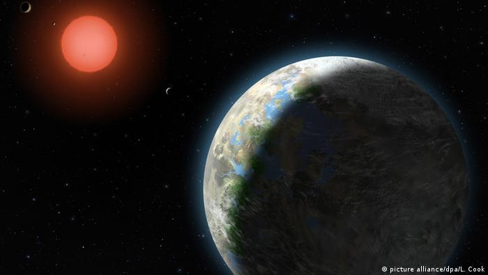 Planeten des Gliese 581 Systems