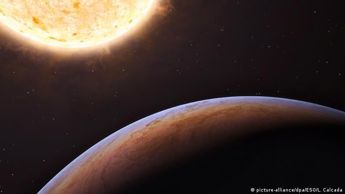 Wissenschaft Astronomie Jupiterähnlicher Exoplanet in der Milchstraße entdeckt