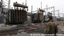 Kohlekraftwerk in Lugansk 08.11.2014