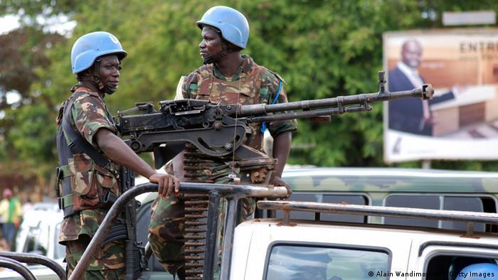 Beni Demokratische Republik Kongo Blauhelmsoldaten 23.10.2014
