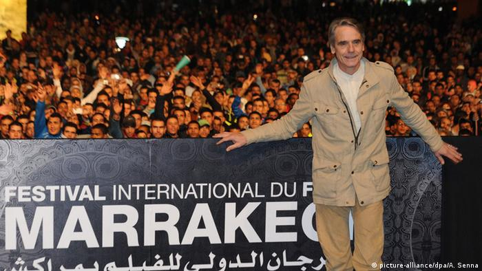 Jeremy Irons beim Marrakesch Film Festival