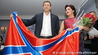 Oleg Zarjow und Anna Netrebko