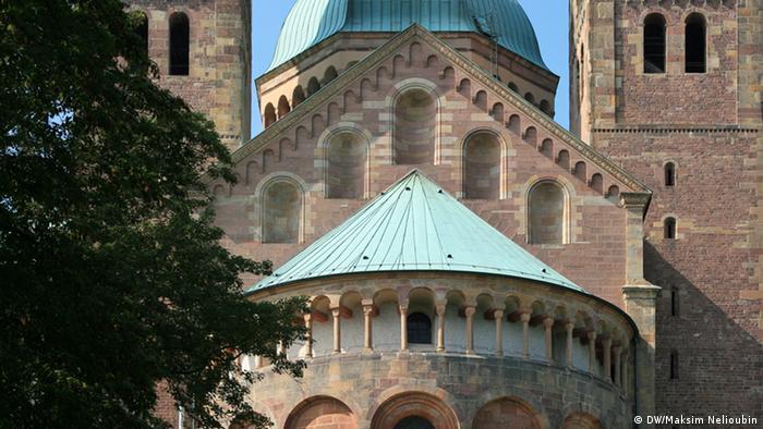 Восточная сторона Шпайерского собора