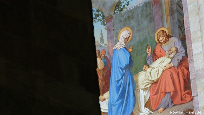 Одна из фресок в Шпайерском соборе