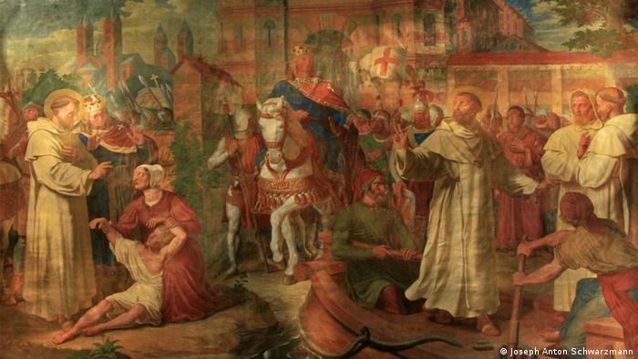 Фреска в Императорском зале