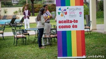 "Mosambik ""Registe Lambda, Registe Igualdade"" Kampagne"