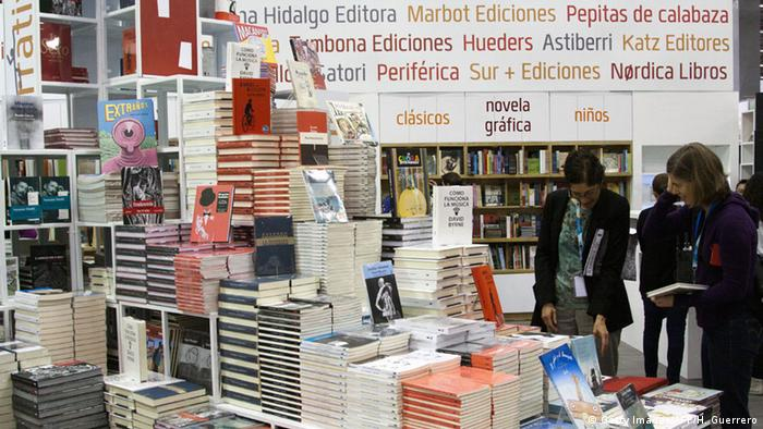 Internationale Buchmesse Guadalajara 2014 (Getty Images/AFP/H. Guerrero)