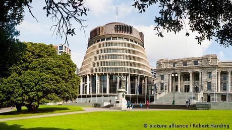 Parlament Gebäude Wellington Neuseeland