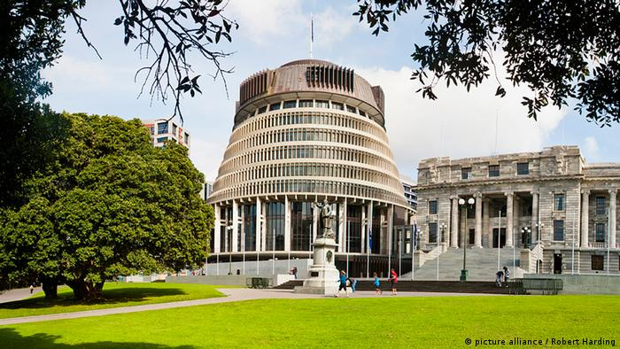 Parliament building Wellington New Zealand (picture alliance / Robert Harding)