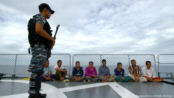 Indonesien illegale Fischerei Vietnam 05.12.2014 (Reuters/Antara Foto/J. Sulistyo)