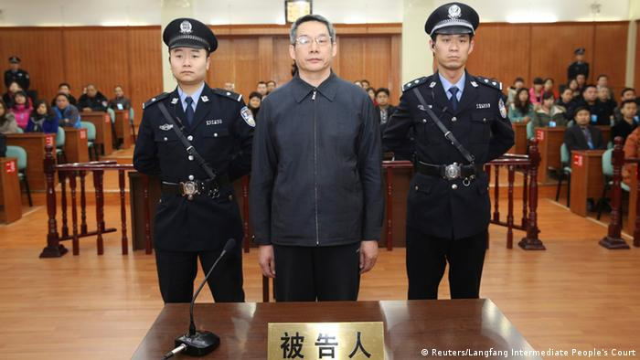 China Gerichtsprozess Liu Tienan 10.12.2014 (Reuters/Langfang Intermediate People's Court)