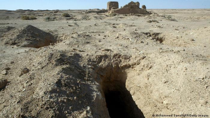 Черные копатели продолжают раскопки в Северном Ираке - там, где прежде работали немецкие экспедиции