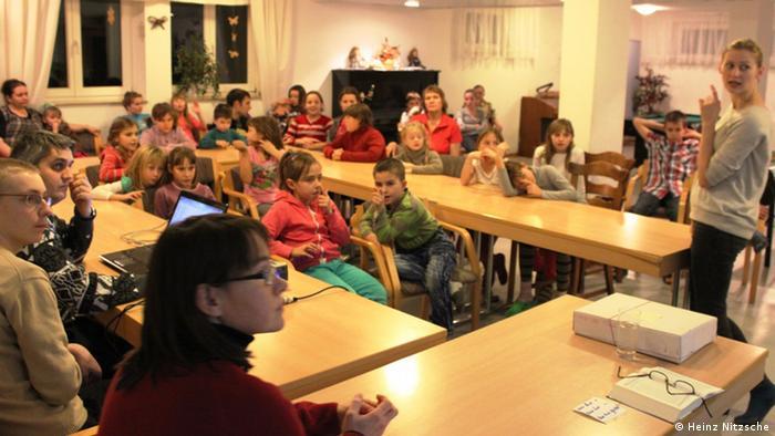 Під час канікул у Німеччині українські діти вивчають німецьку мову