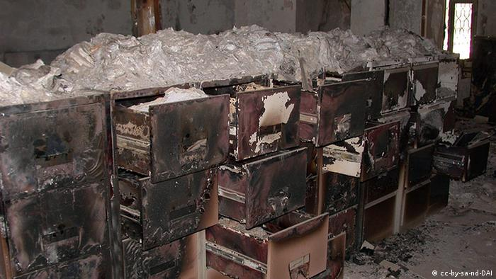 Каталог археологических находок в Национальной библиотеке Багдада: восстановлению не подлежит