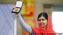 Friedensnobelpreis Verleihung Malala 10.12.2014 Oslo