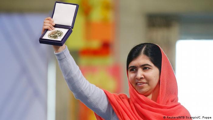 Friedensnobelpreis Verleihung Malala 10.12.2014 Oslo (Reuters/NTB Scanpix/C. Poppe)