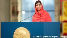 Friedensnobelpreis Verleihung Rede Malala 10.12.2014 Oslo