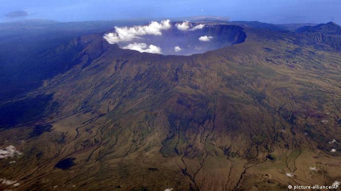 Indonesien Vulkan Tambora
