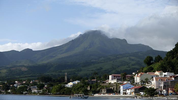 Frankreich Martinique Berg Pelee