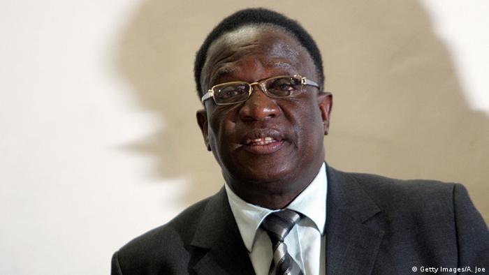 Emmerson Mnangagwa ALEXANDER JOE/AFP/Getty Images)