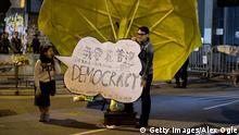 Hong Kong - Erneute Demonstrationen