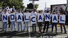 Nicaragua - Demonstrationen gegen den Kanalbau